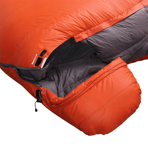 Double Sleeping Bag Down Tandem Permafrost