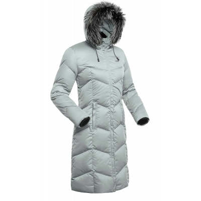 Downy Coat Women'S Bask Snowflake Gray L