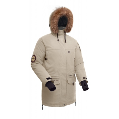 Down Jacket Women'S Bask Iremel Beige XS