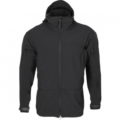 Jacket Soft Shell Black Tactical 44-46/170-176