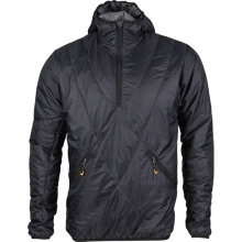 """Insulated Pullover Jacket """"Stealth"""" Primaloft® with Hood [Black]"""