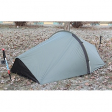 "Tarp with Tent Pole Data & Mosquito Net ""Nomad"" 1+"