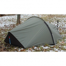 "Tarp with Tent Pole Data & Mosquito Net ""Nomad"" 2 [Olive]"