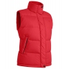 Women'S Puffer Vest Bask Traverse Lv Red XS