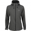 "Women's Jacket ""Glory"" Soft Shell Melange [Gray]"