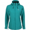 "Women's Jacket ""Glory"" Soft Shell Melange [Emerald]"
