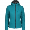 Primaloft Insulated Hooded Jacket Barrier - Women's [Turquoise]